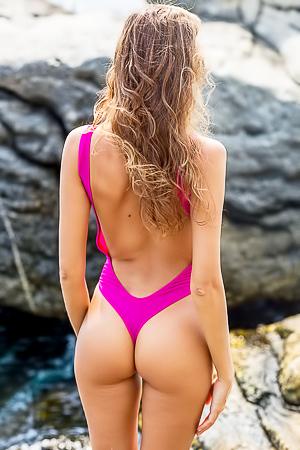 Clover in fashion bikini