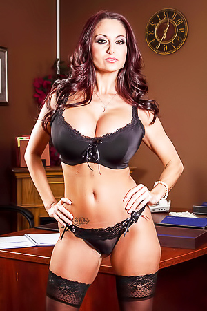 Ava Addams in stockings