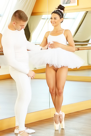 Ballerina Adela fucking like a whore