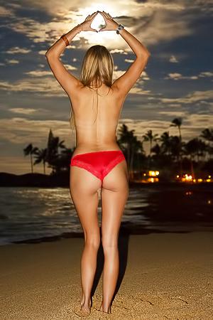 Nude sunset pics