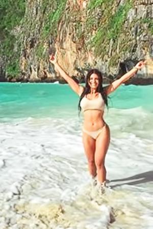 Celeb Karen Villarreal stripping