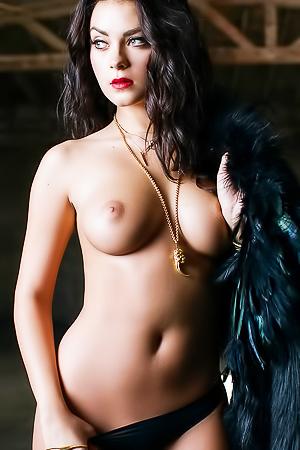 Beautiful brunette Alexandra Tyler