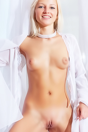 Sexy sweet babe blonde