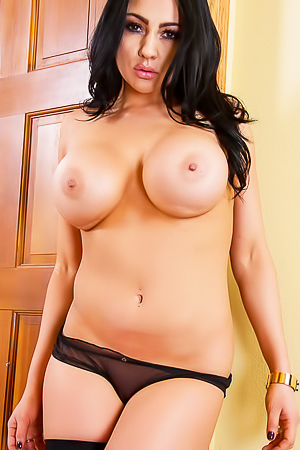 Audrey Bitoni - boobed brunette in lingerie