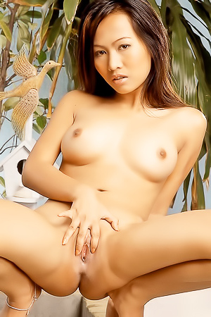 Flexible asian babe Sally Wong