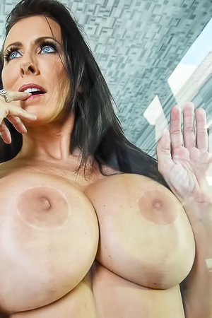 Reagan Foxx - giant wet boobs