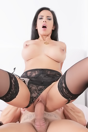 Hardcore fuck with slut in stockings