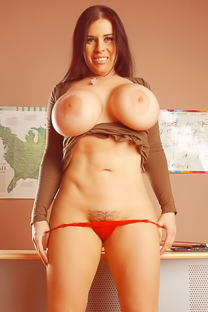 Daphne Rosen - wild busty teacher