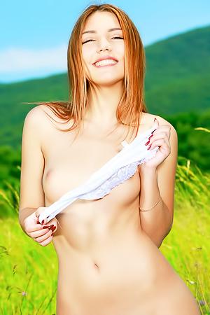 Nude picnic with hot Alicia Love
