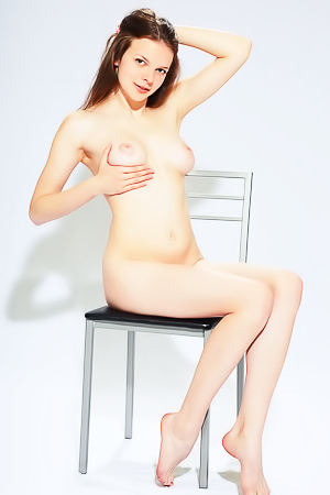Ella G - naked on the chair
