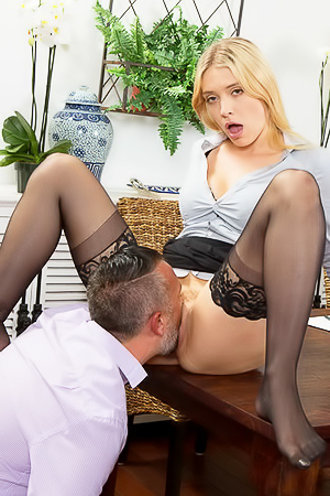 Pussy penetration with secretary Giselle Palmer