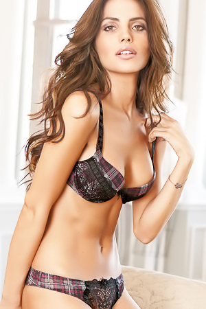 Bianca Balti - amazing lingerie model