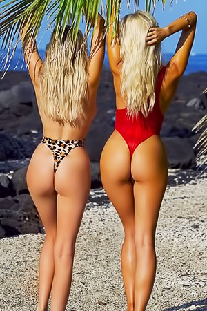 Glamour Bri Teres with girlfriend