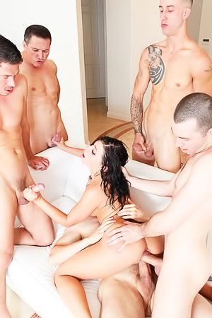 Adriana Chechik in hardcore orgy