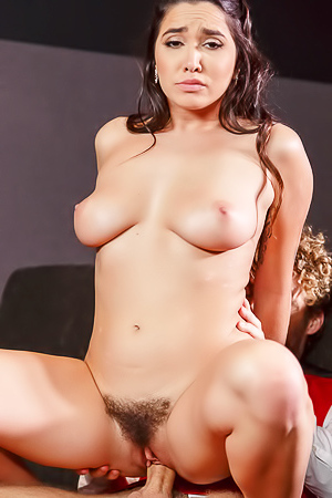 Hot sex with hairy Karlee Grey