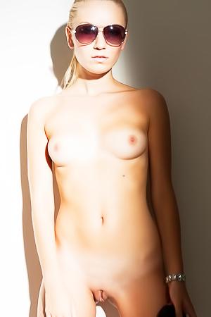 Skinny Tereza is posing naked