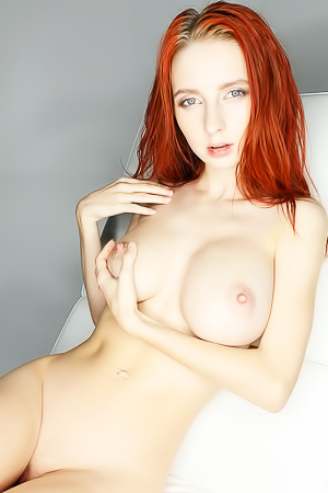 Helga Grey - redhead skinny babe