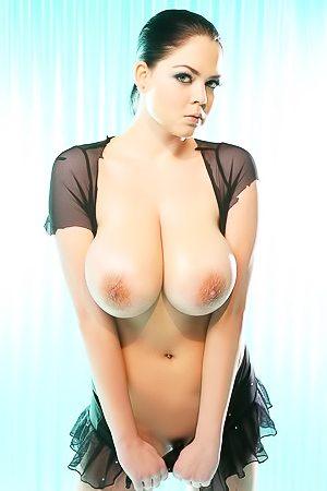 Gel and her huge wet boobs