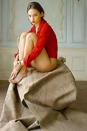 Stunning model Maria Demina