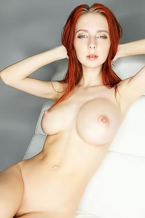 Helga Grey - skinny busty babe