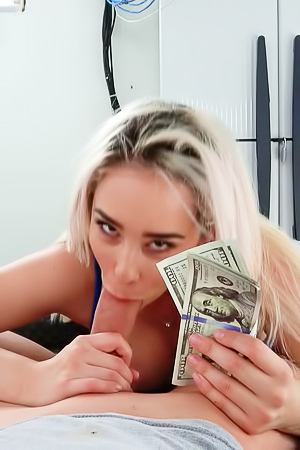 Curvy Mila Marx is fucking for money