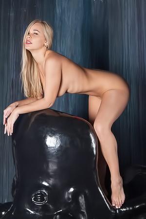 beautiful blonde Sarika A