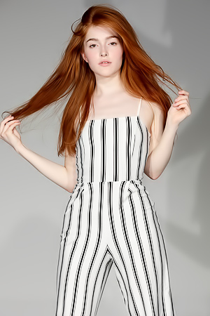 Casting For Redhead Beauty Jia Lissa