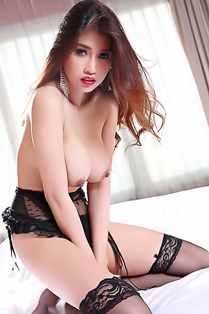 Sexy Asian Farsai In Hot Lingerie