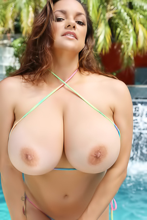 Monica Mendez Marvelous Huge Boobs