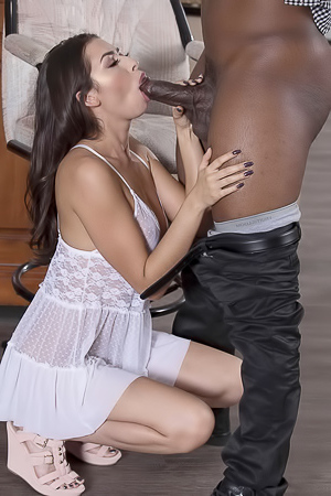 Melissa Moore Wants Black Cock