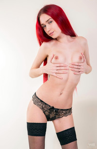 The Beautiest Redhead Teen Inessa